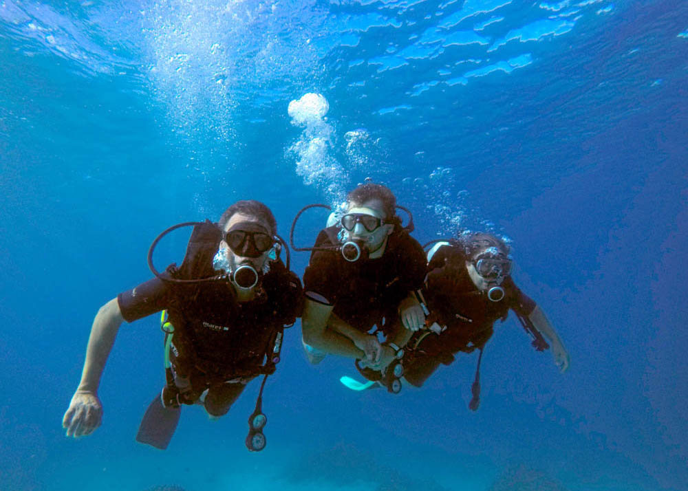 diving and freediving courses Fiji. Learn to dive - SSI Open Water Diver