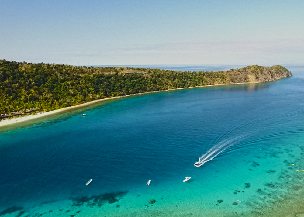 Mamanuca and Yasawa Island diving, fishing, surfing, and sailing charter